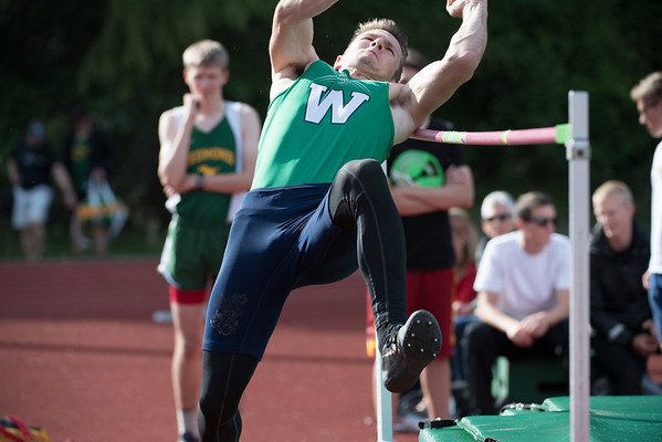 Woodinville May 5 - Mens High Jump