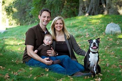 Orange County Family Portrai t- Justin & Jamie