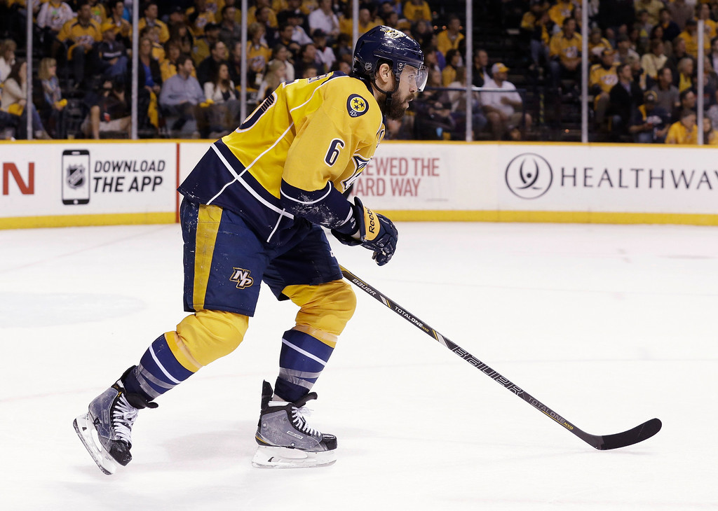 . <b>Shea Weber (Nashville Predators defenseman)</b>