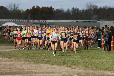D2 Girls at 500 Meters - 2018 MHSAA LP XC Finals
