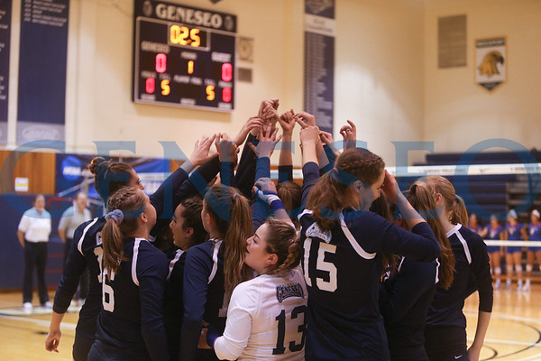 Volleyball vs. New Paltz (Photos by Ben Gajewski)