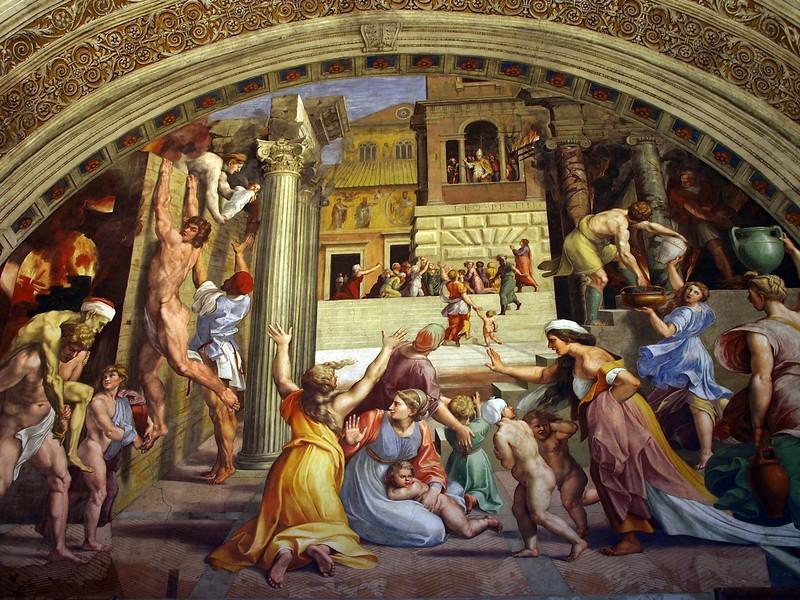 Rome Vaticaan Stanza di Rafaël 31-1-09 (1).jpg
