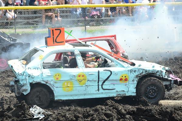DuPage County Fair 2016 - Demolition Derby