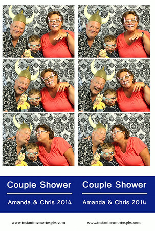 Couple Shower Amanda & Chris 7-26-2014