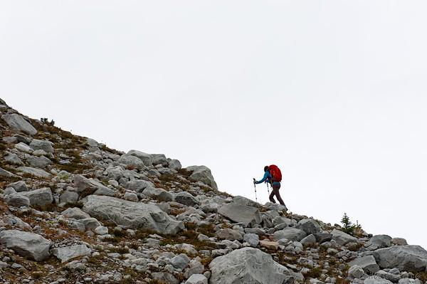 Blockhead Moraine Trail