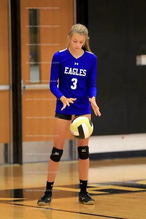 East Bladen vs Clinton 2019 jv volleyball