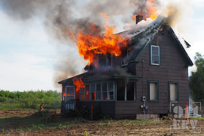 Training Burn - Gilford, NH - 9/11/2021