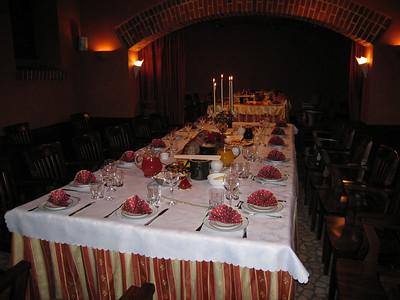 Spotkanie wigilijne 2005