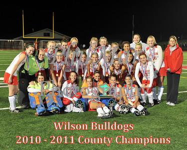 Wilson VS Fleetwood Field Hockey County Championship 2010 - 2011