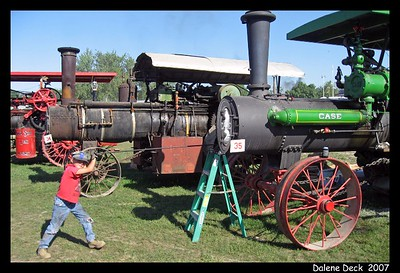 Steam Traction - Old Threshers 2007