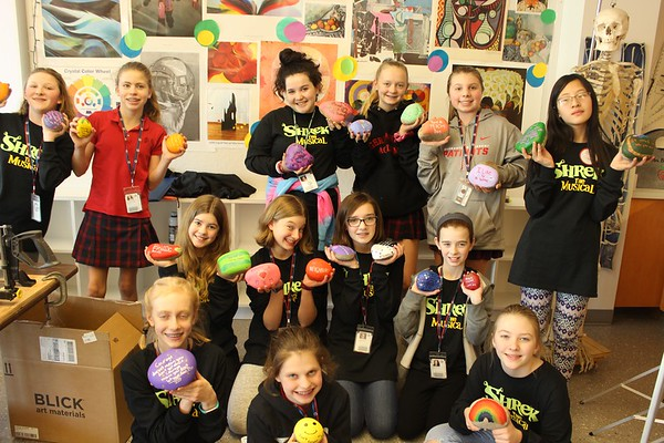 Art for Community: The Kindness Rocks Project