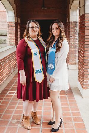 Sarah + Emily's graduations