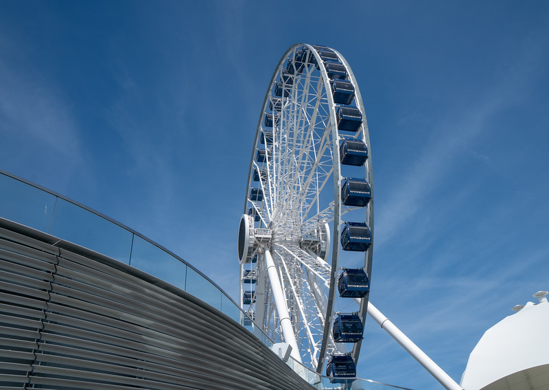The Navy Pier Ferris Wheel