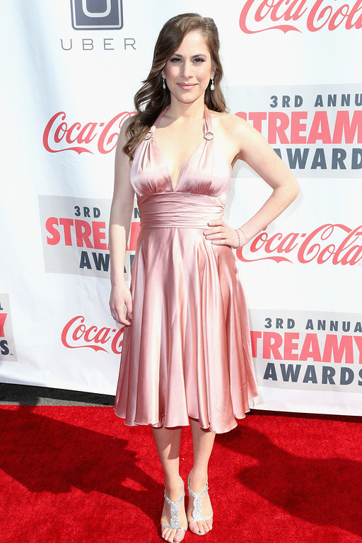 . Producer Ana Kasparian attends the 3rd Annual Streamy Awards at Hollywood Palladium on February 17, 2013 in Hollywood, California.  (Photo by Frederick M. Brown/Getty Images)