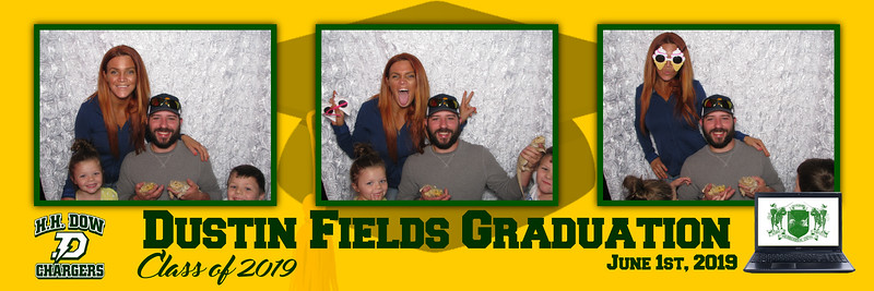Dustin Fields Grad Party