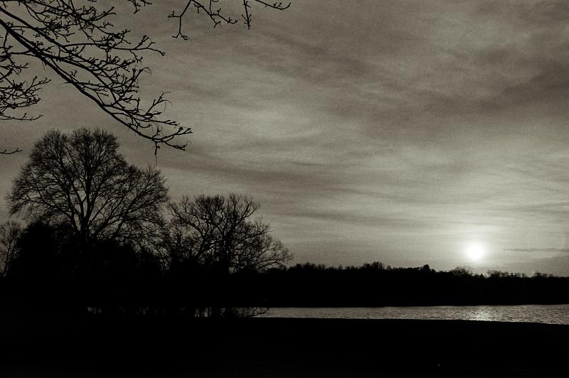 Winter. Stillness.