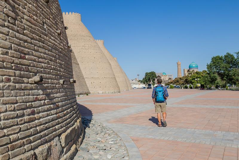 Ark Fortress, Bukhara - Uzbekistan Travel