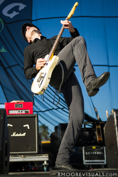 Dennis Casey of Flogging Molly performs on December 1, 2012 during 97X Next Big Thing at Vinoy Park in St. Petersburg, Florida
