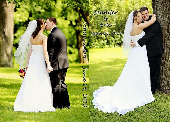Jennifer & Eric 12x8 Tuscany Wedding Album