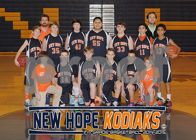 New Hope Middle Basketball
