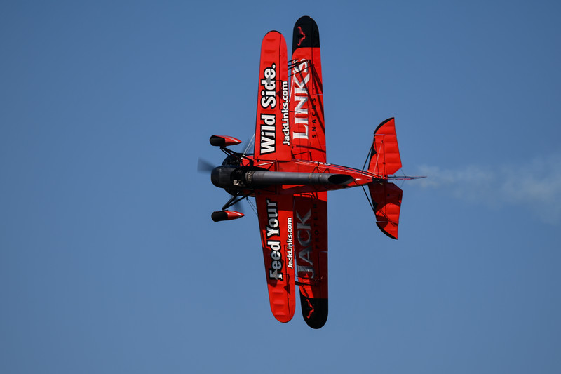 Jack LInks Jet Powered Waco Demo