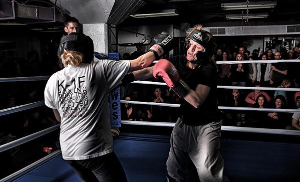 K-one fitness fight night November 21 2008