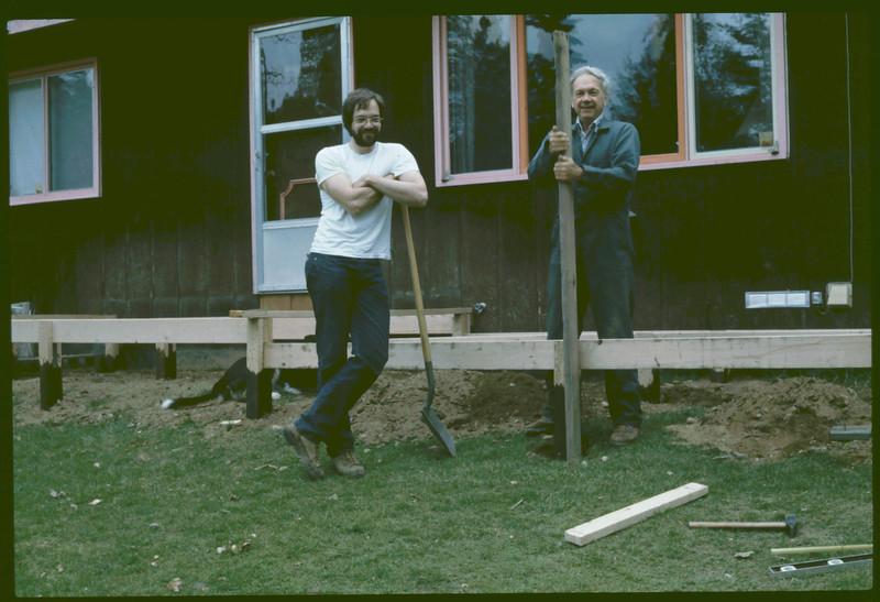 Dave & Wayne, New Deck at Wik Lake, AK,   8-19-2007 10-39-09 PM 2418x1595 - Copy.jpg