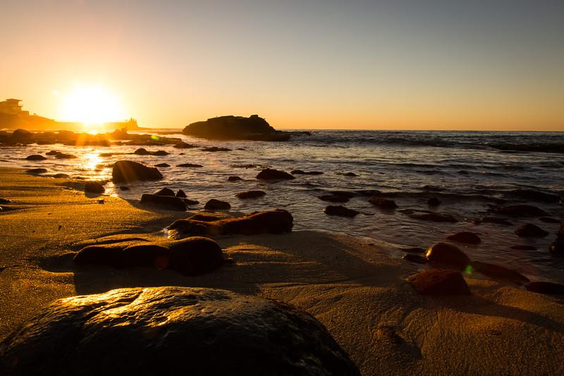 Sunset at La Jolla Cove