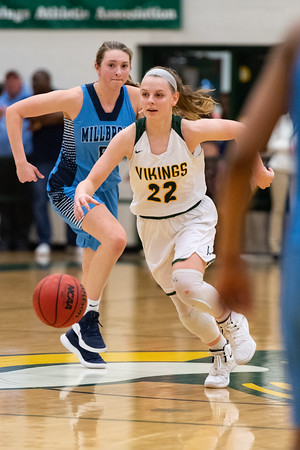 2019.02.22 Girls Basketball: Millbrook @ Loudoun Valley