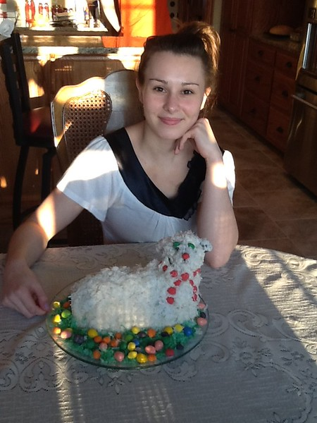 Finished product!  Easter 2015