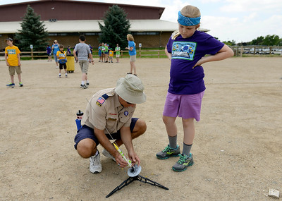 Photos: Longmont Girl Scout Day Camp