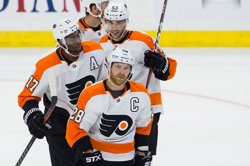 NHL 2018: Flyers vs Senators  OCT 10