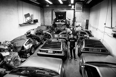 Justin Wells Auto DeLorean