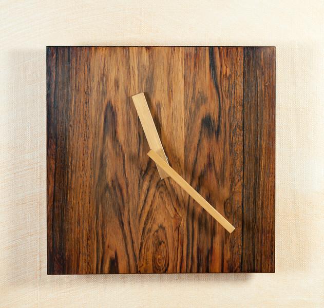 Clock in Rio rosewood