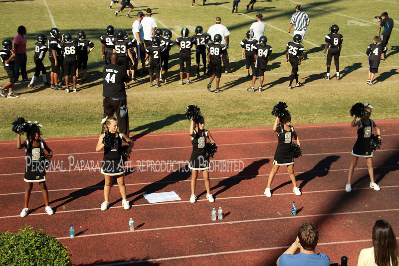 Sprayberry Jr Jacket Home Coming Game October 01, 2010