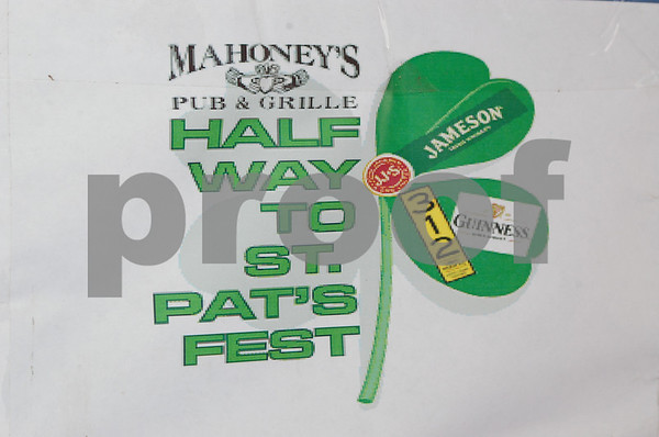 Mahoney's Half Way to St. Paddy's Day Party