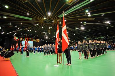 Efterskolernes Gymnastikstævne Messecenter Herning 9 april 2014