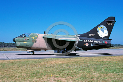 A-7 Corsair II Easter Egg Colorful Military Airplane Pictures