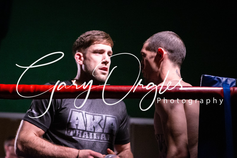 Fight 5.  Ben Fahey vs Chace Griffin