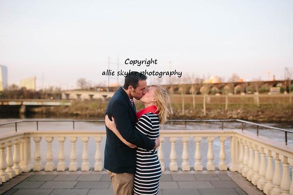 Lisa and Brian: Philladelphia Engagement Photography