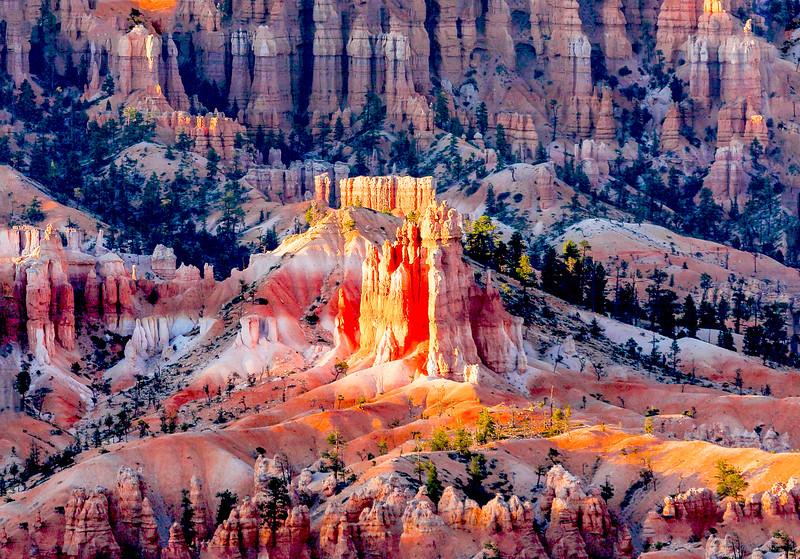 Peek-A-Boo Trailhead in Bryce Canyon