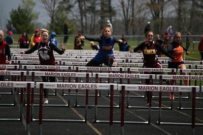 Marion D4 Regional 100m Hurdle Semi-Finals Girls