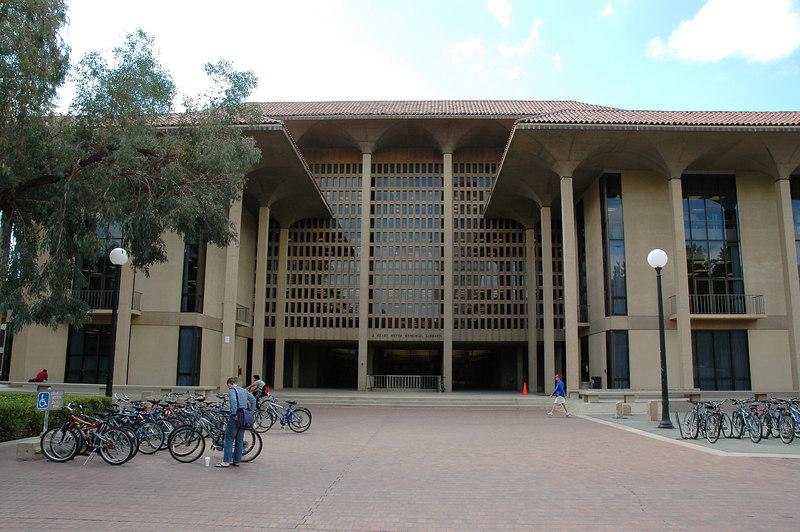 又一座圖書館,好大學令人嚮往的就是很多圖書館