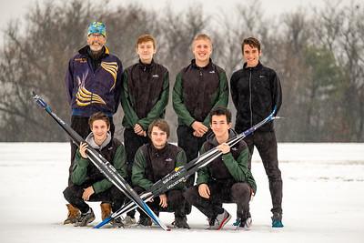 2019-12-09 OHCHS Nordic Skiing Team Photos