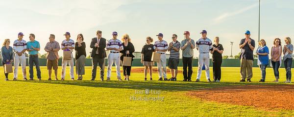 CCS Baseball Senior Night, April 18