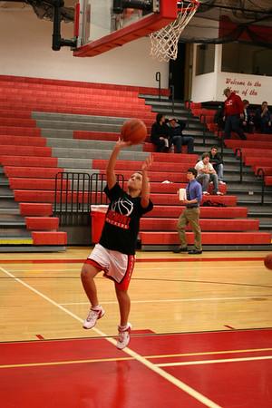 Girls JV Basketball - 2009-2010 - 1/14/2010 Spring Lake