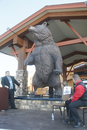 Photos: Bear River unveils giant Guardian Bear above the Eel River Valley