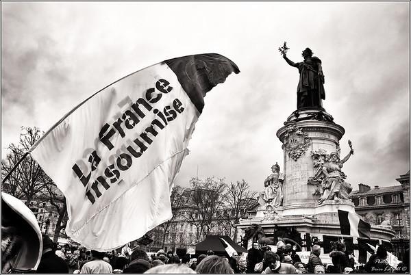 La France insoumise marche pour la 6ème République
