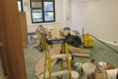 Inner Courtyard, Faculty Center and Locker Room Renovations | Summer 2013