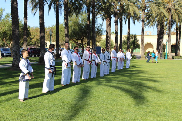 Karate in the Park 2013
